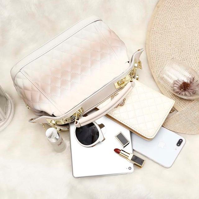Купить высококачественные дамские сумочки gw с ручками женские 2020 картинки