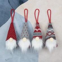 El yapımı İsveç doldurulmuş oyuncak Santa bebek Gnome İskandinav Tomte Nordic Nisse cüce Elf ev süsler noel Santa #45