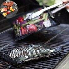 Сетчатая Сумка для барбекю и выпечки антипригарный многоразовый
