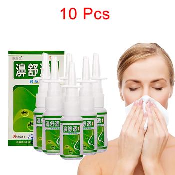 10 5 butelek 20ml nieżyt nosa Spray nosa pielęgnacja przewlekły nieżyt nosa leczenie zapalenie zatok Spray chińskie tradycyjne zioło medyczne tanie i dobre opinie MQFORU CN (pochodzenie) Rhinitis Spray Sinusitis BODY Nose Care Nasal Spray 20 ML Bottle Oral 2 years