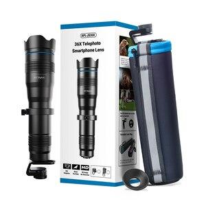 Image 5 - APEXEL 옵션 HD 36X 금속 망원경 망원 렌즈 monocular 모바일 렌즈 + selfie 삼각대 삼성 화웨이 모든 스마트 폰