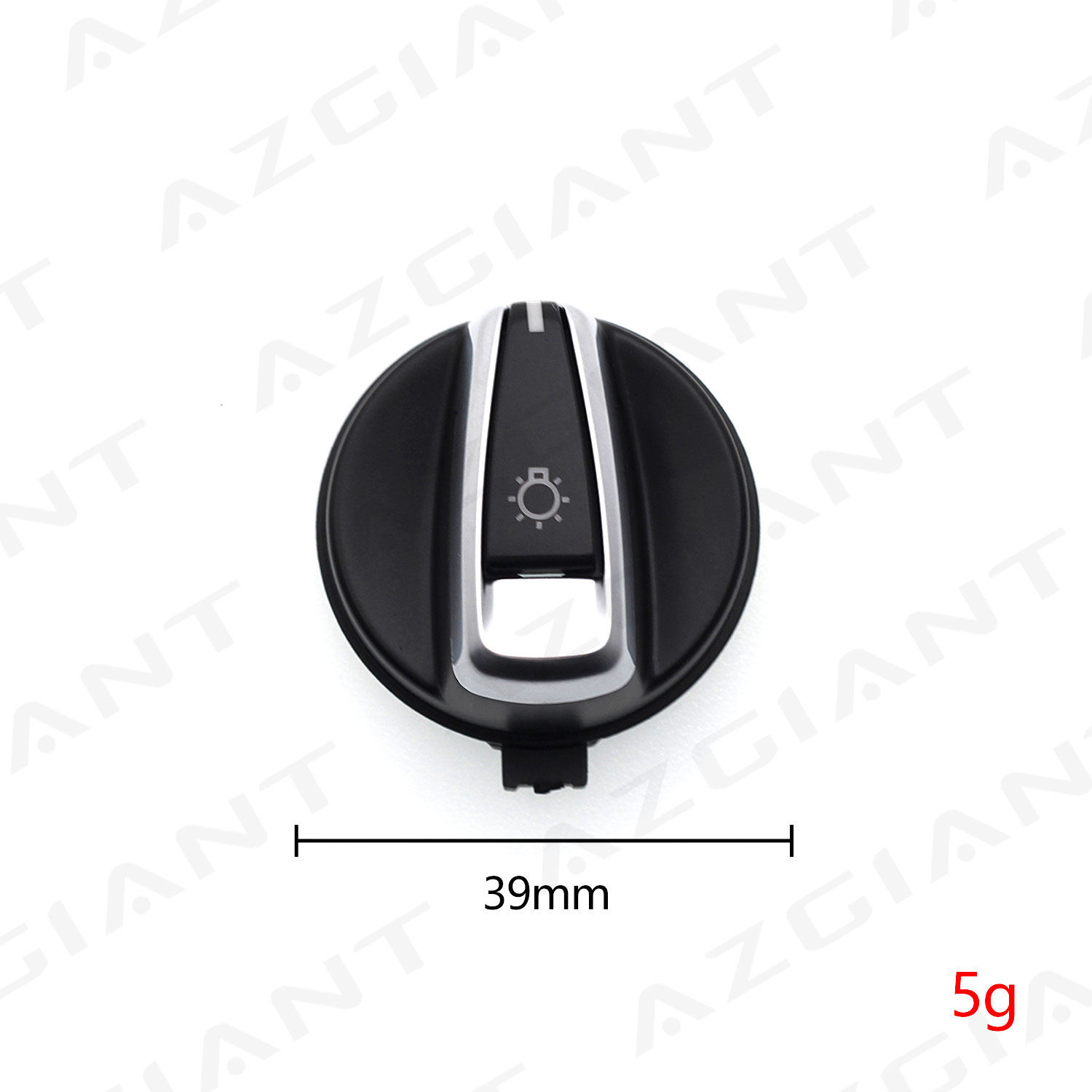 1pc Car Front Headlight Switch Rotation Button for BMW 1 Series 3 Series E90 318i 320i 325i 330i Headlight Switch Knob Button image