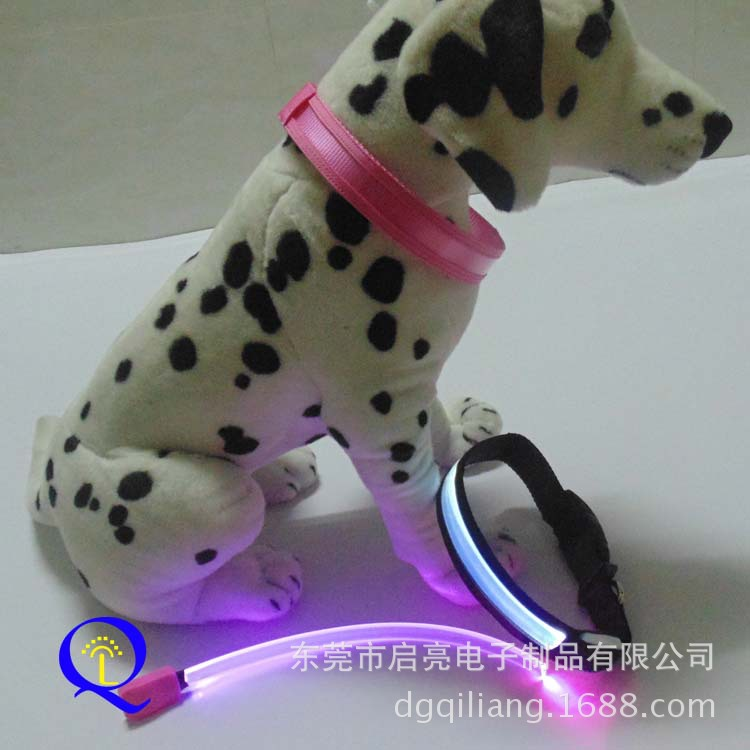 Dongguan LED Pet Dog Collar Glowing Dog Collar Necklace Supply Of Goods