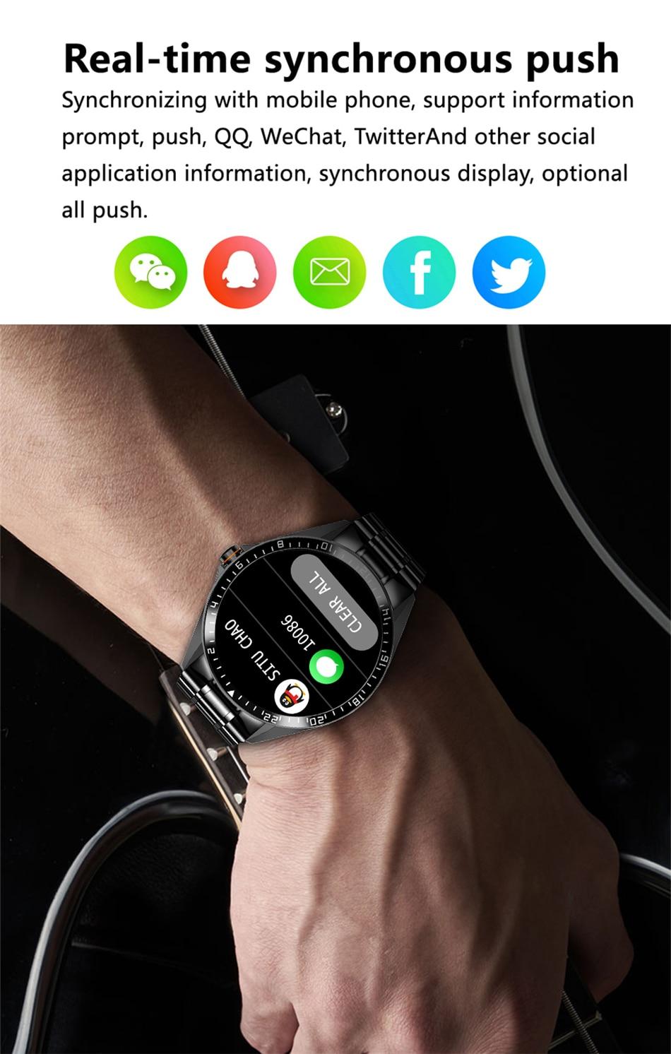 prova dip68 água esportes relógio de fitness