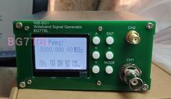 Durch BG7TBL WB-SG1 1Hz-8GHz Breitband Signal Quelle Signal Generator Band auf-off Modulation Freies verschiffen