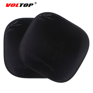 Image 3 - 2 sztuk Auto kurtyny boczne osłony przeciwsłoneczne ochrona UV osłona przeciwsłoneczna do samochodu osłona przeciwsłoneczna czarna osłona przeciwsłoneczna boczna tylna pokrywa czapka z daszkiem