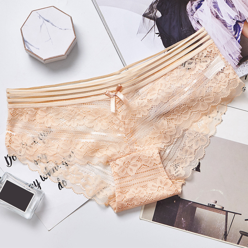 Fashion underwear panties women Sexy Lace Breathable Lingerie Briefs Elastic Underpants ropa interior femenina трусы женские