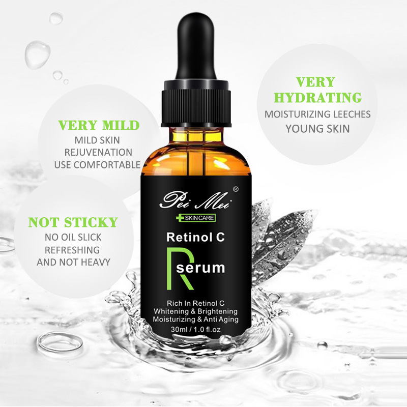 Face Facial Serum Vitamin Retinol C Serum Firming Repair Skin Anti Wrinkle Remove Acne Pimple Anti Aging Serum Lifting Skin Care