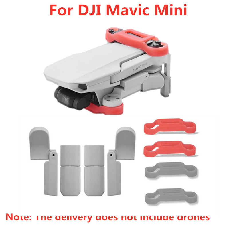 1Set Foldable Extended Landing Gear Leg Support Protector Extensions For DJI Mavic Mini Drone Accessories