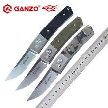 Ganzo-cuchillo plegable de hoja G10 FireBird G7361 440C, cuchillo plegable de supervivencia, herramienta de Camping, cuchillo de bolsillo para caza, herramienta táctica para exteriores edc