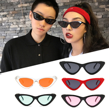 Retro triangle cat eye sunglasses fashion street shooting sunglasses goggles sunshade glasses