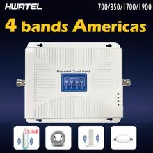 700 850 1700 1900 МГц quad band мобильный телефон Сотовая связь усилитель повторитель с ракетой 25 дБ антенны полный комплект 2020 Новый