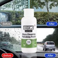 Universal HGKJ 20 50ml limpeza de vidro do carro polimento pasta filme óleo de vidro scratch removendo limpeza lavagem auto acessórios do carro Líquido de lavagem de carro Automóveis e motos -