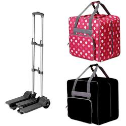 Large Capacity Home Use Durable Multi-functional Sewing Machine Bag Storage Bags Durable Travel Portable Tote With Small Cart
