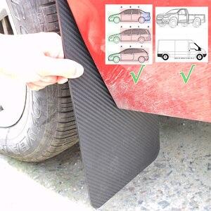 Image 5 - Front Rear 4Pcs 2pair Universal Mud Flap Flaps Splash Guards Mudguards Mudflaps Car Auto Van SUV Pickup Trucks Wheel Fender