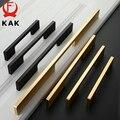 KAK черный шкаф ручки из алюминиевого сплава американский стиль кухонный шкаф ручки для выдвижных ящиков оборудование для обработки мебели