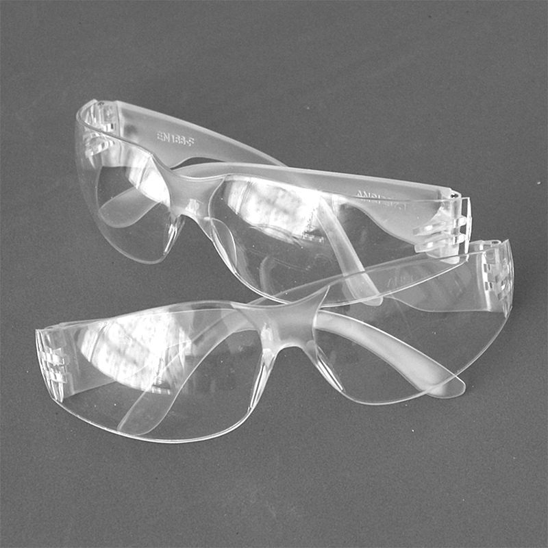 1Pc Protective Goggles Sand Glasses Transparent Eyewear Headset Woodworking Tools Elastic Cycling Laboratory Hot Sale
