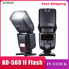 Andoer AD-560 II Flash Speedlite With Adjustable LED Fill Light Universal Camera Flash for Canon Nikon Olympus Pentax DSLRs