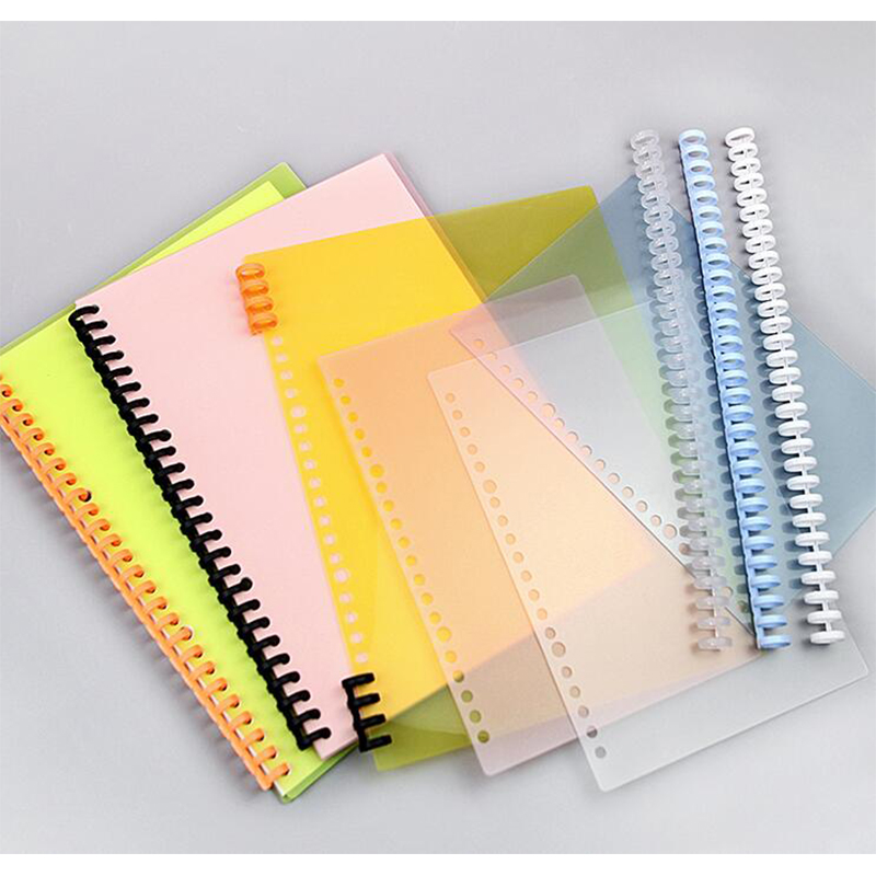 Pitch Spiral Binding Coil, Transparent PP Cover, Binding Film Paper