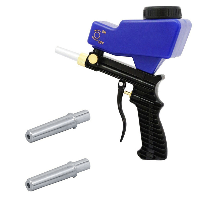 Sandblasting Guns Nozzle ToolSpray Guns Rust Sandblasting Device Sandblasting Spray Guns For LEMATEC AS118 Sandblaster Guns