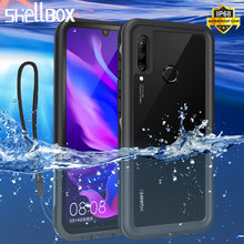 Shockproof Waterproof Case for Huawei P20 Pro Lite Mate 20 Pro 360 Silicone Case for P30 Pro P30 Lite Mate 30 Pro Diving Coque
