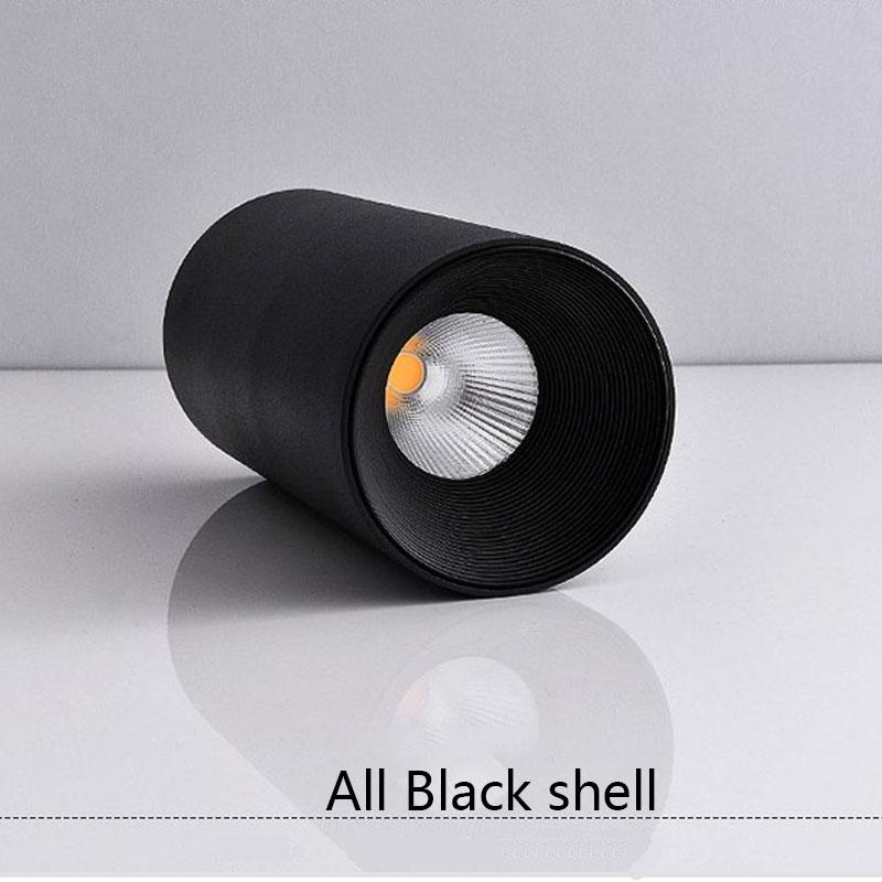 All Black shell