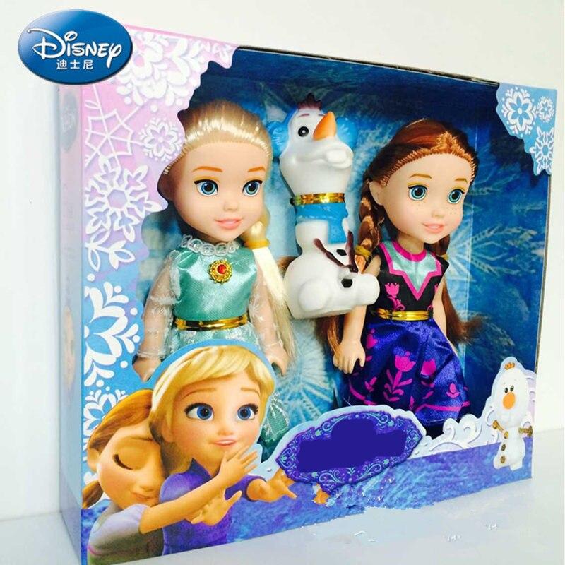 20 cm disney festa de pelúcia boneca congelado presentes únicos bonito meninas princesa anna brinquedos & presentes pelucia boneca juguetes elsa boneca