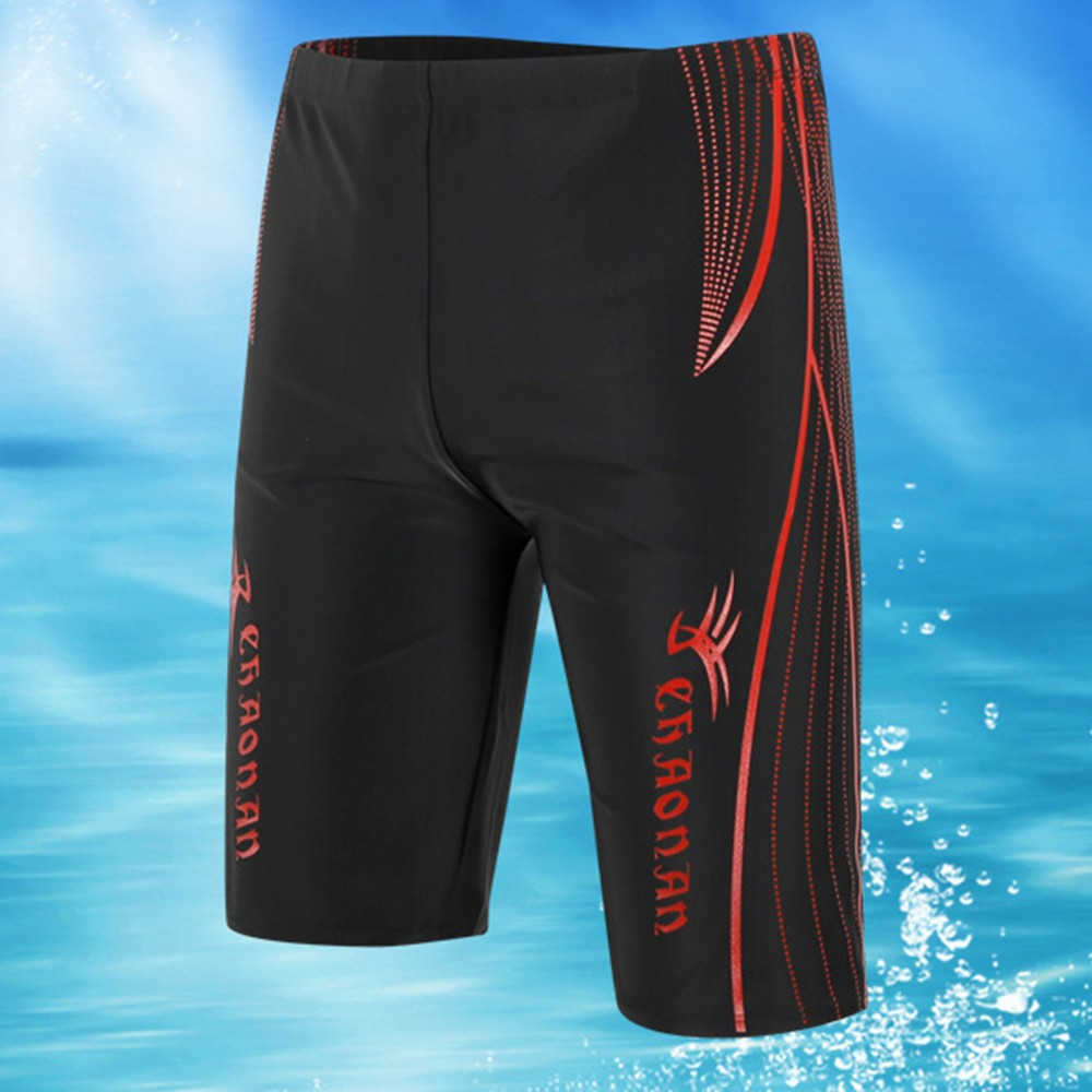 Man Sport Jammers Swim Boxer Trunks Shorts Beach Pants Swimming Quick-dry Shorts Sexy Mesh Breathable Sports Beach Trunks Hot 3