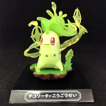 TAKARA TOMY Pocket Monster Bulbasaur Mudkip Pikachu Chikorita Doll Toys Pokemon Action Figure Children Gifts Collections