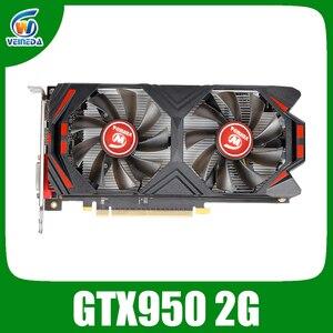 VEINEDA Graphics Card GTX 950 2GB DDR5 128Bit for nVIDIA VGA Cards Geforce gtx 950 stronger than GTX750ti 2G