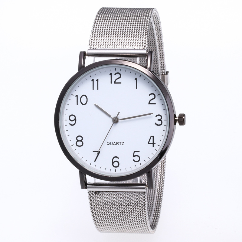 Sell Like Hot Cakes For JOOM Men Watch Personality Contracted Digital Network With Quartz Watch Factory Direct Sale