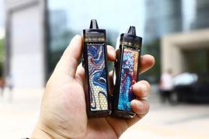 Image 4 - Новый цвет оригинальный VOOPOO VINCI Mod Pod Комплект 5,5 мл Vape Pod & 1500 мАч батарея подходит 0.3ohm PnP катушка электронная сигарета испаритель