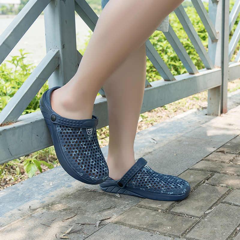 Mannen Strand Schoenen Tuin Slippers Sneldrogend Water Schoenen Mannen Sport Zomer Strand Aqua Slipper Outdoor Sandalen Casual Zee schoenen