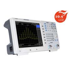Owon XSA1015-TG analisador de espectro 10.4 Polegada display lcd portátil testador