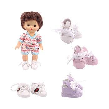 Zapatos de muñeca Nenuco con orejas de conejo, accesorios para muñeca bebé Mellchan de 25 Cm, de nuestra generación, juguete para regalo para niña de cumpleaños