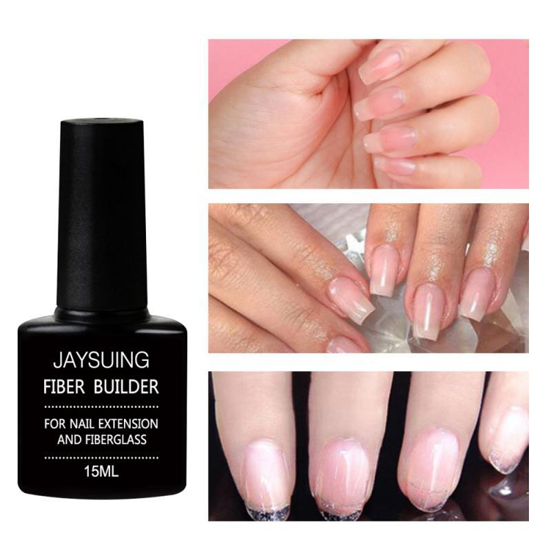 15ml Nail Extension Gel UV Builder Gel For Nail Finger Extension UV Varnishes Hybrid Nail Gel