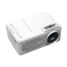 814 мини микро портативный домашний развлекательный проектор поддерживает 1080P Hd Мобильный телефон подключение проектора белого цвета