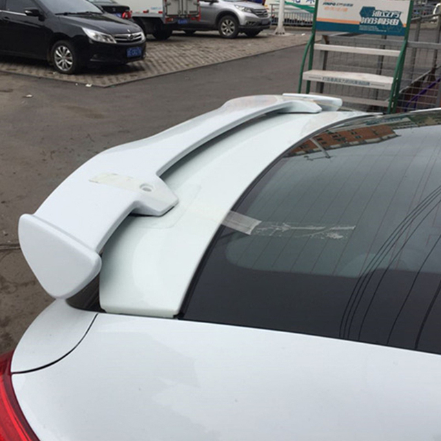 Use for Hyundai Veloster spoiler 2012 13 14 15 16 year ABS plastic rear roof wing Sport Accessories