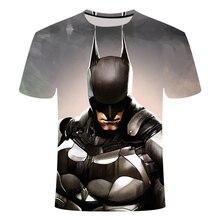 Short Sleeve 3D T Shirt Men T-Shirt Male Tee Captain America Superman tshirt Fitness Compression