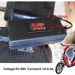 Image 3 - Portable Smart Tester For Charger Battery Lead Acid Gel Agm Lithium Electric Bike Scooter Voltage DC 5V 99V Current 0.1 9.9A