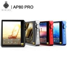 Hidizs-REPRODUCTOR de música portátil de alta resolución AP80 PRO, Dual ESS9218P, Bluetooth, MP3, USB, DAC, DSD64/128 apt-x/LDAC, compatibilidad con contador de pasos FM