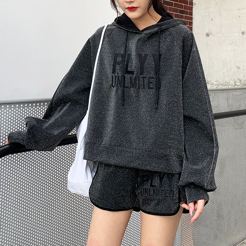 Zmra Autumn And Winter New Style Korean-style Designer AVANT-GARDE Sporty Set Long-sleeved Sweater Two-Piece Set Wholesale