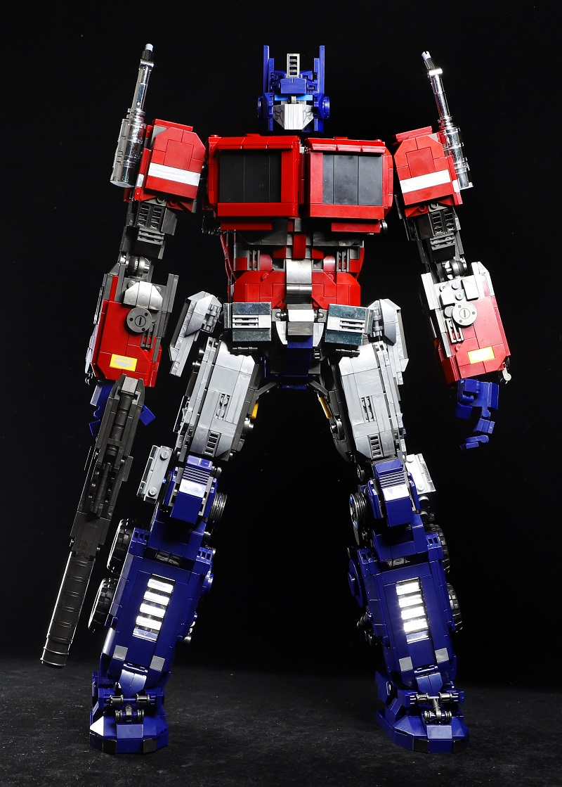 2020 New MOC Optimus Prime Star Soldier Transformer Robot Action Figures Building Blocks Construction Toys For Boys Child Gift