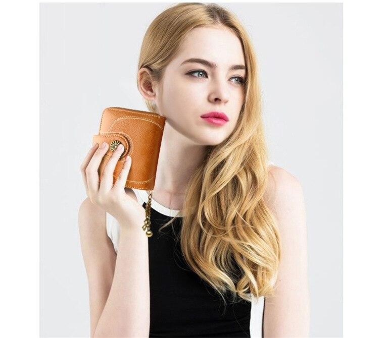 2020 novo vintage bolsas femininas carteira titular