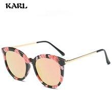 Retro Round Polarized Sunglasses Women Fashion Luxury Color Film Lens UV400 Driving Goggles Shades Female