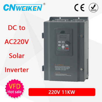 DC Input 220V 7.5KW AC Triple (3) Phase Output 1HP Photovoltaic Solar Pool Water Pump Inverter Converter image