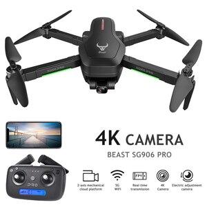 Image 2 - Mini drone SG906/SG906 PRO GPS Brushless 4K Drone con la Macchina Fotografica 5G Wifi FPV giocattoli telecomando Pieghevole volo 25min RC Drone Quadcopter