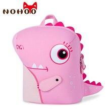 цены NOHOO Kids Toddler Dinosaur Backpack With Leash 3D Cartoon Animal Pre School Backpacks for Boys Girls