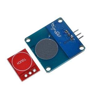 Image 3 - 5PCS TTP223 터치 키 스위치 모듈 터치 버튼 자동 잠금/잠금 없음 용량 성 스위치 단일 채널 재구성
