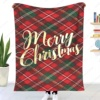 Christmas Plaid Throw Decke Personalized Blanket/Sofa/Bed/Car 3D Printing Blankets Children's Christmas Gift Household Bedding